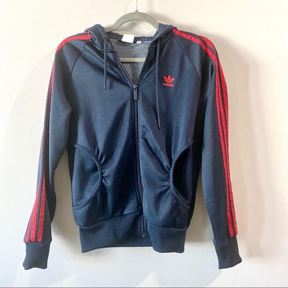 adidas Jackets & Blazers - Adidas Zip-up Hooded Jacket
